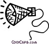 Vector Clipart illustration  of a megaphone