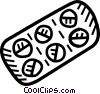 pills Vector Clipart graphic