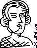 telephone headset Vector Clipart picture