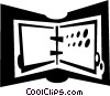 binders Vector Clip Art picture