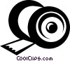 Vector Clip Art graphic  of a Spools of Thread