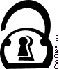 lock Vector Clipart illustration