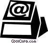 Vector Clipart image  of a keyboard key