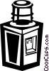 Vector Clip Art picture  of a water cooler