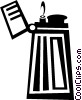 Vector Clipart image  of a lighter