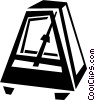 metronome Vector Clipart graphic