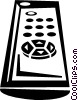 Vector Clip Art image  of a remote control