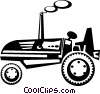 Vector Clipart picture  of a tractor