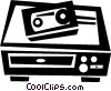 Videotape Recorders Vector Clipart picture