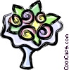 Bridal bouquet Vector Clip Art picture
