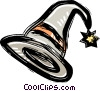 Vector Clipart picture  of a Witches hat