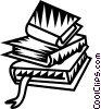 Vector Clip Art graphic  of a book
