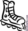 Vector Clipart illustration  of a rollerblades