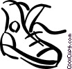 Running Shoes Vector Clipart illustration