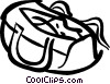 sports bag Vector Clipart picture