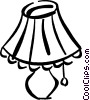 living room lamp Vector Clipart image