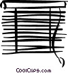 Vector Clipart graphic  of a blinds