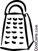cheese grater Vector Clipart illustration