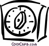 Vector Clipart picture  of a timer
