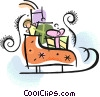 Sleighs Vector Clipart picture