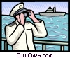 Vector Clipart graphic  of a Sailors