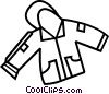 Vector Clipart graphic  of a winter coat