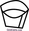 Vector Clipart illustration  of a minnow pail