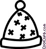 winter hat Vector Clip Art picture