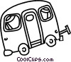 Vector Clipart image  of a trailer