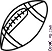 Vector Clipart illustration  of a football