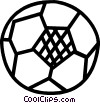 soccer ball Vector Clipart illustration