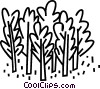 Vector Clipart illustration  of a forest
