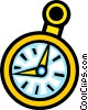 Vector Clip Art graphic  of a Pocket watches