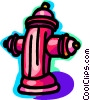 Fire Hydrants Vector Clipart illustration