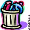 Garbage Waste Trash Vector Clip Art image