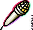 Microphones Vector Clip Art picture