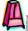 Vector Clipart graphic  of a Metronomes