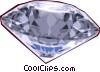 Vector Clipart image  of a Large diamond