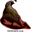 Vector Clipart graphic  of a Quails
