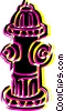 Vector Clipart graphic  of a Fire Hydrant
