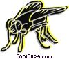Vector Clip Art image  of a House fly