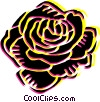 Vector Clipart graphic  of a Rose