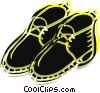 Vector Clipart picture  of a Hiking boot