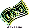 Dollar bill Vector Clipart picture