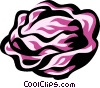 Vector Clipart graphic  of a lettuce