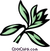 Vector Clipart picture  of a savory
