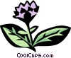 Vector Clip Art image  of a oregano