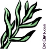 Vector Clipart image  of a tarragon