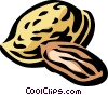 almond Vector Clip Art picture
