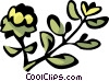 Vector Clipart graphic  of a thyme